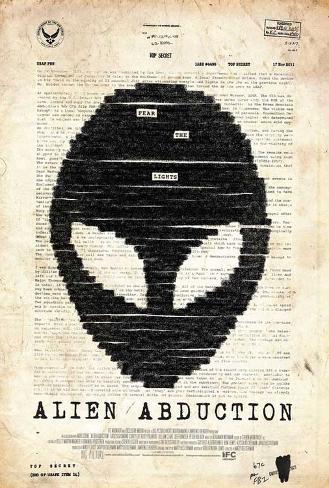 Alien Abduction Masterprint