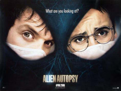 Alien Autopsy Póster original