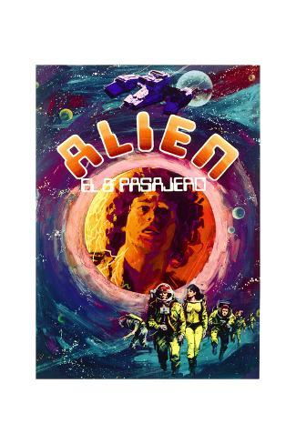 Alien - Movie Poster Reproduction Premium Giclee Print
