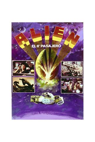 Alien - Movie Poster Reproduction Stampa artistica