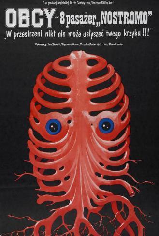 Alien - Polish Style Poster