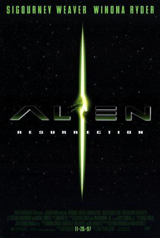 Alien Resurrección Lámina maestra