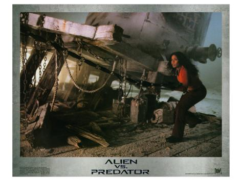 Alien Vs. Predator, 2004 Stretched Canvas Print