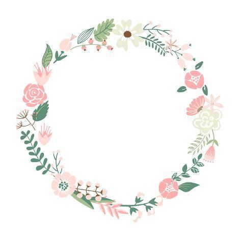 Floral Frame Prints By Alisa Foytik Allposters Ca