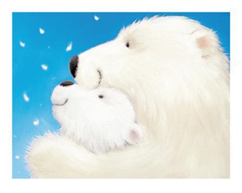 Fluffy Bears III Art Print