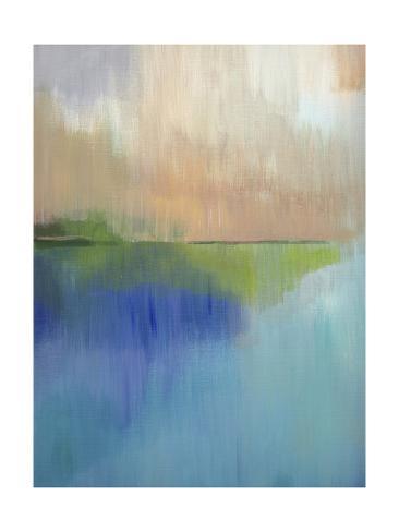 Peaks Bay I Art Print