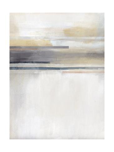 Sandy Coast I Art Print