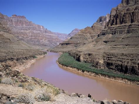 Grand Canyon Gorge, Las Vegas, Nevada, United States of America (U.S.A.), North America Photographic Print