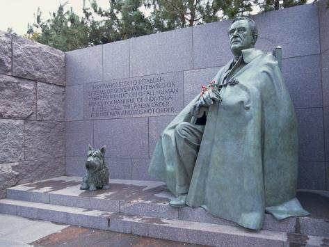 Memorial to Fdr, in Washington Dc, United States of America, North America Photographic Print