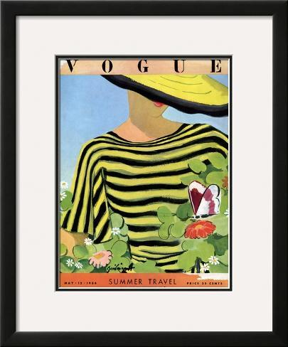 Vogue Cover - May 1934 Framed Giclee Print