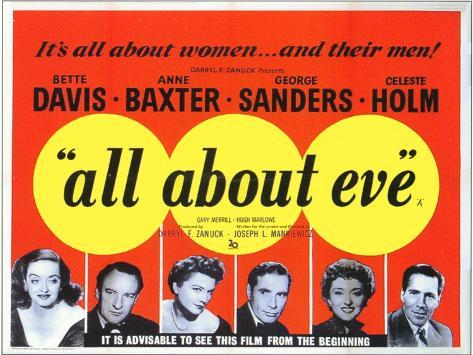 All About Eve, 1950 Art Print