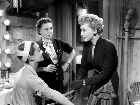 All About Eve, Bette Davis, Thelma Ritter, Celeste Holm, 1950 Photo