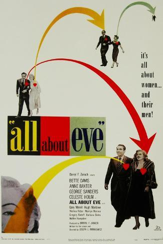 All About Eve, Directed by Joseph L. Mankiewicz, 1950 Giclee Print