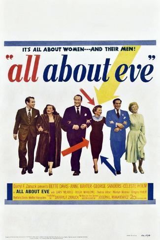 All About Eve Stampa artistica