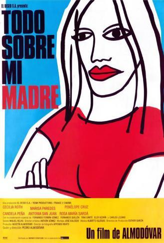 All About My Mother - Spanish Style Poster