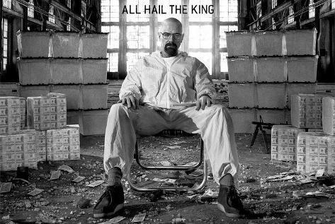 All Hail The King Breaking Bad GIANT Poster Pôster gigante