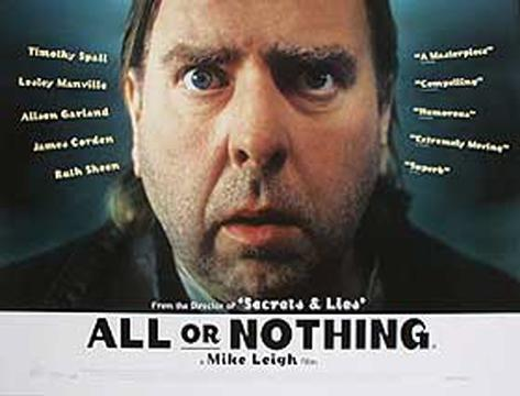 All Or Nothing Original Poster