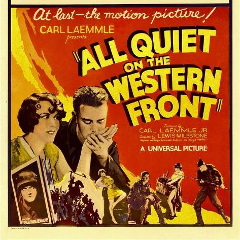 All Quiet on the Western Front, Lew Ayres, 1930 Stampa artistica