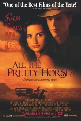 All the Pretty Horses Masterprint