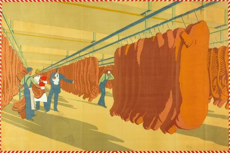 A Bacon Factory Giclee Print