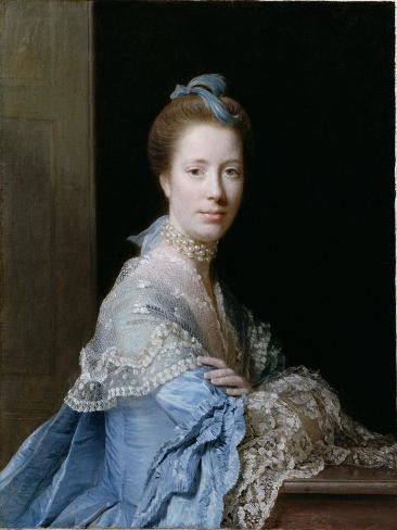 Portrait of Jean Abercromby, Mrs Morison of Haddo Lámina giclée
