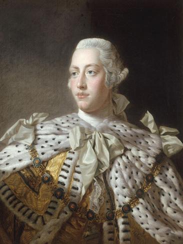 Portrait of King George III Giclee Print