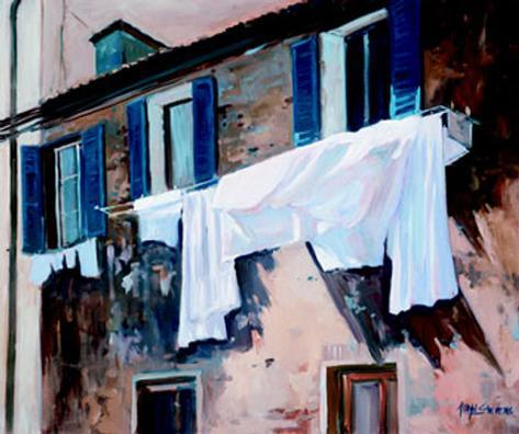 The balcony ii prints by allayn stevens at for The balcony menu