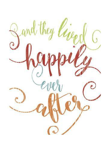オールポスターズの alli rogosich happily ever after colorful 高