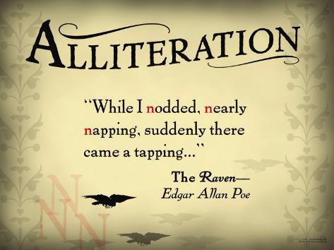 Alliteration Art Print