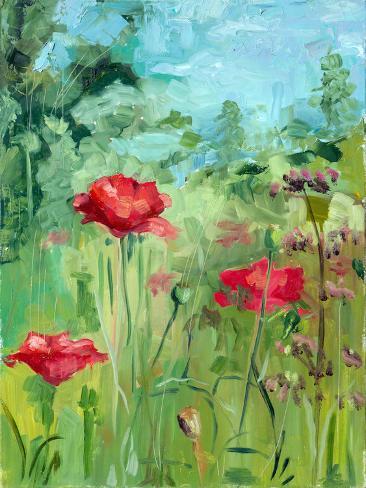 Summer Landscape Premium Giclee Print