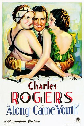 Along Came Youth Art Print