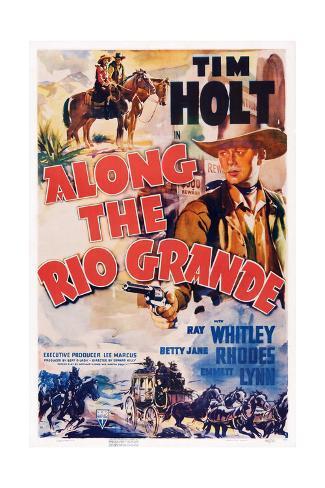 Along the Rio Grande Giclee Print