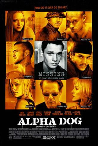Alpha Dog Double-sided poster
