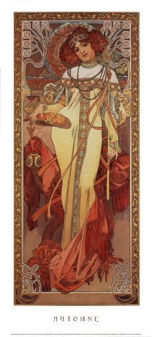 Automne, 1900 Art Print