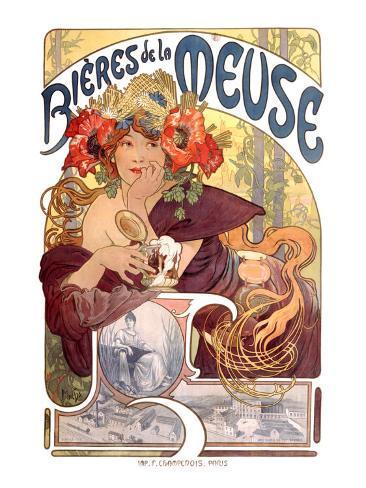 Bieres de la Meuse Giclee Print