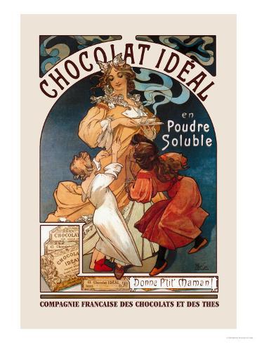 Chocolat Ideal Art Print