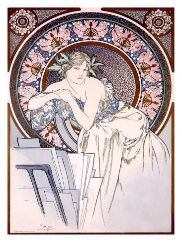 Femme aux Coquelicots Giclee Print