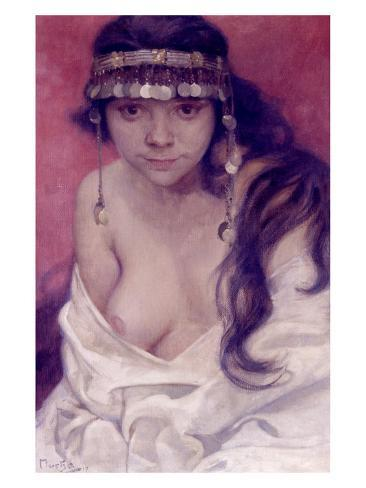 Girl from Montenegro Giclee Print