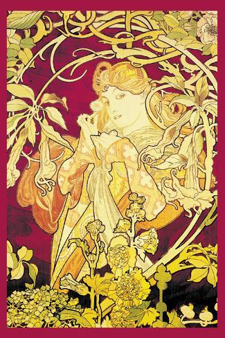 Ivy Giant Art Print