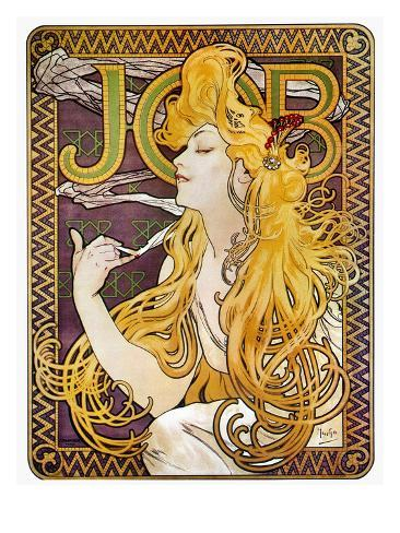 JOB Cigarettes, c. 1897 Giclee Print