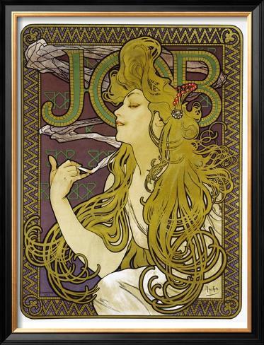 Job Framed Giclee Print