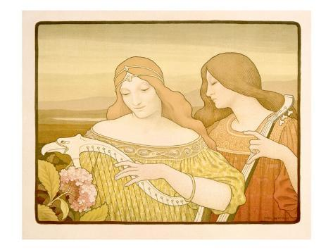 Lady Musicians Giclee Print