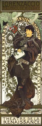 Lorenzaccio Art Print