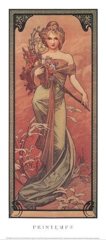 Printemps, 1900 Art Print