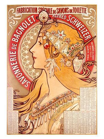 Savonnerie de Bagnolet Giclee Print