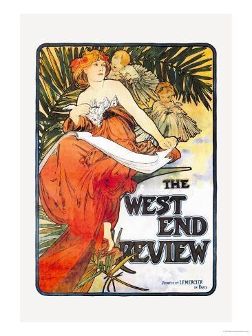 The West End Review Art Print