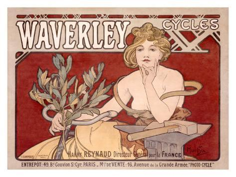 Waverley Cycles Giclee Print