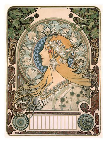 Zodiac Giclee Print