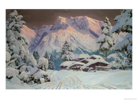 Hocheisgruppe, Austria Giclee Print