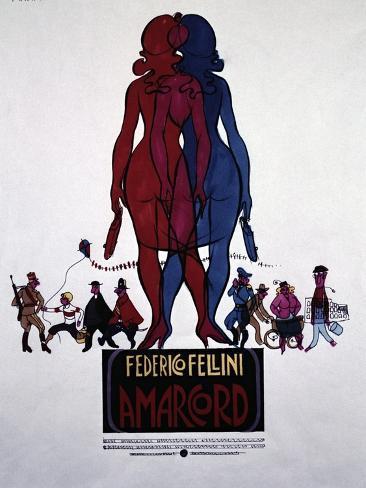 Amarcord, 1973 Giclee Print